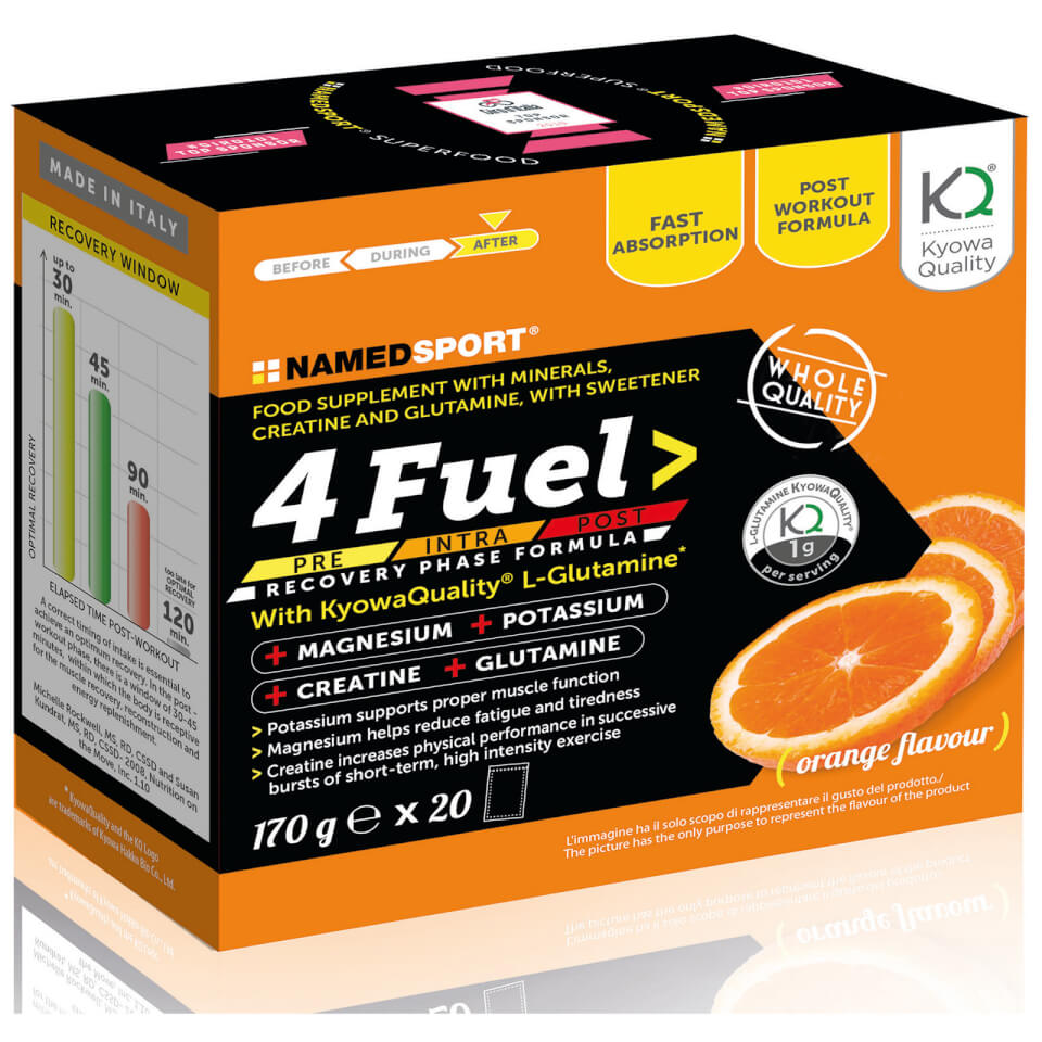 NAMEDSPORT 4 Fuel Sport Recovery Supplement