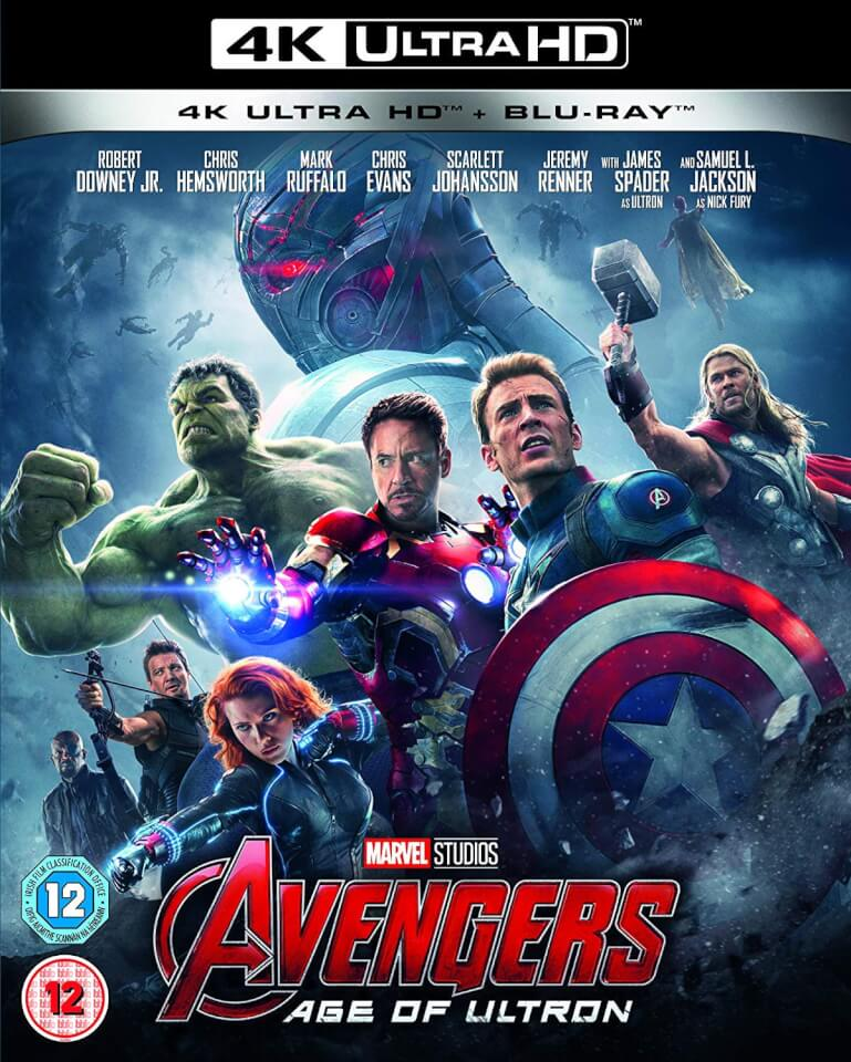 Avengers Age of Ultron - 4K UHD