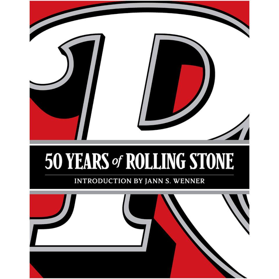 50 Years of the Rolling Stone (Hardback)