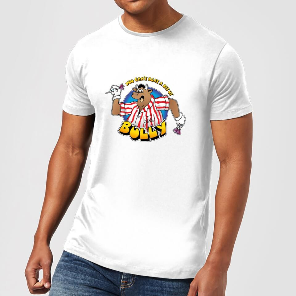 Camiseta Bullseye Can't Beat A Bit Of Bully - Hombre - Blanco - S - Blanco