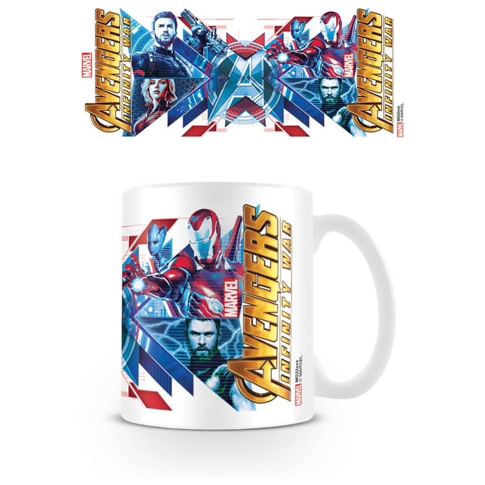 Avengers: Infinity War (Red Blue Assemble) Coffee Mug