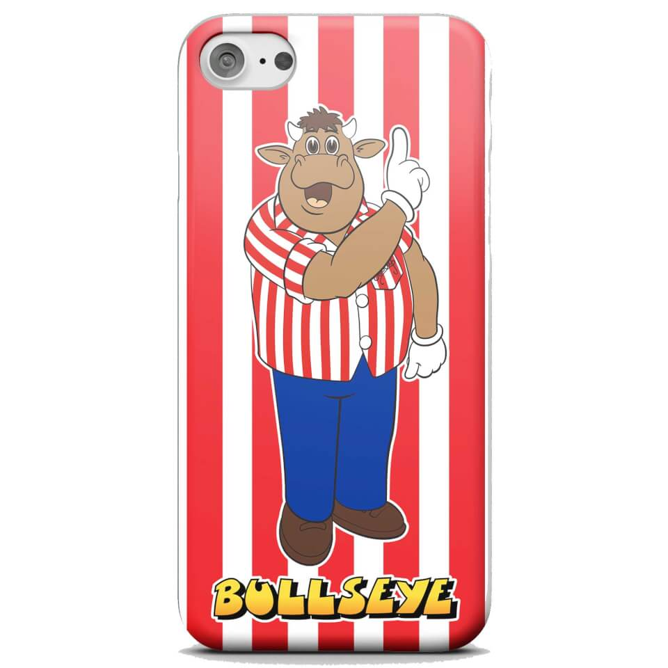 Bullseye Striped Phone Case for iPhone and Android - Samsung S6 - Snap Case - Matte