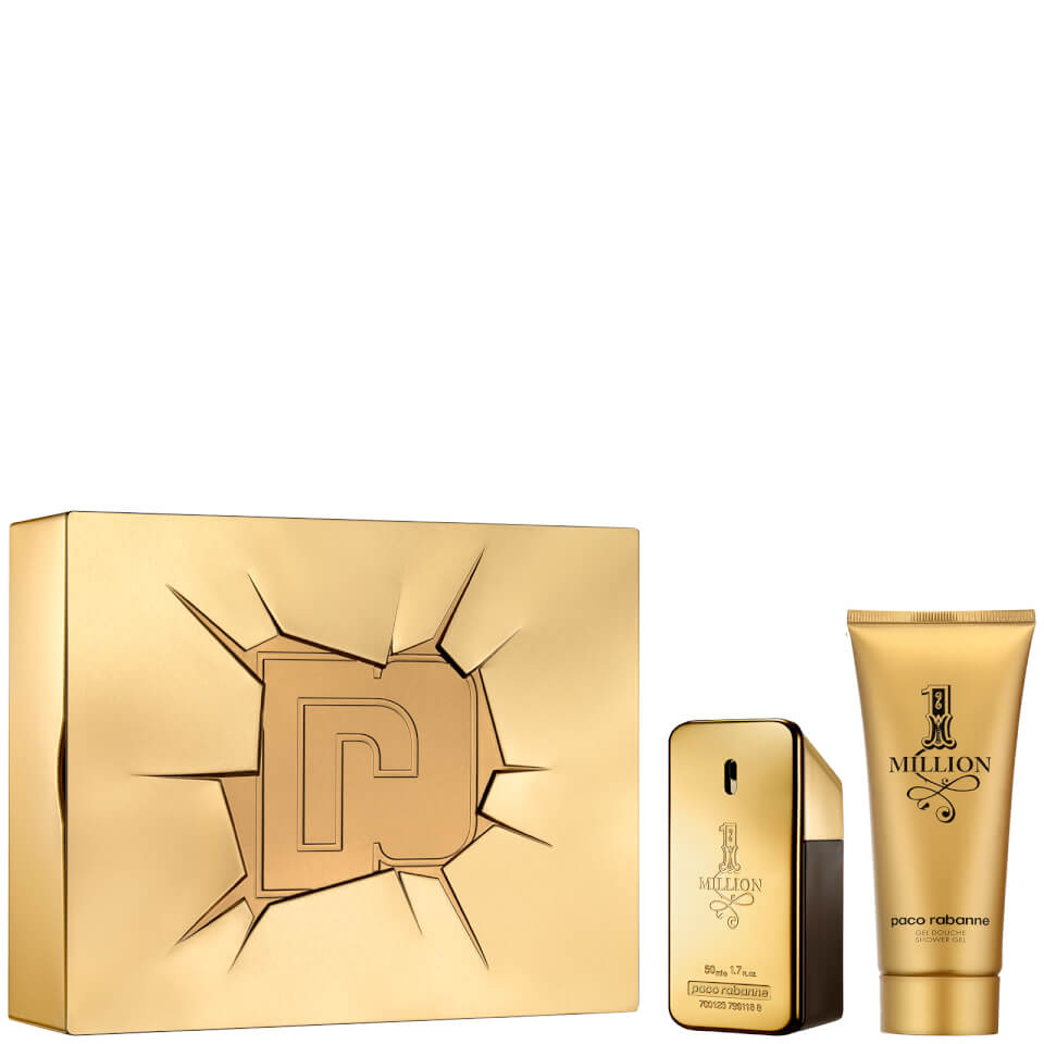 Paco Rabanne 1 Million Eau de Toilette and Shower Gel Set