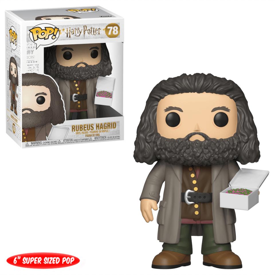Nützlichfanartikel - Harry Potter Hagrid mit Geburstagkuchen 6 Inch Pop! Vinyl Figur - Onlineshop Sowas Will Ich Auch