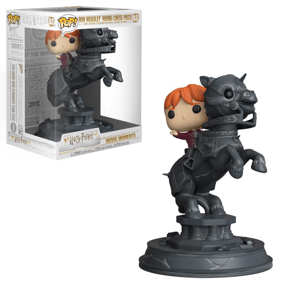 Harry Potter - Ron Ajedrez Mágico - Figura POP