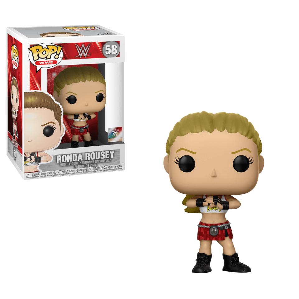 WWE Ronda Rousey Pop! Vinyl Figur