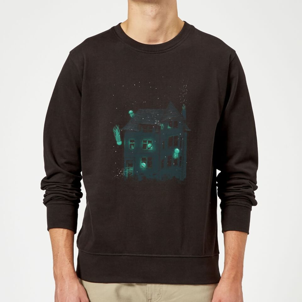 A New Home Sweatshirt - Black - 3XL - Negro