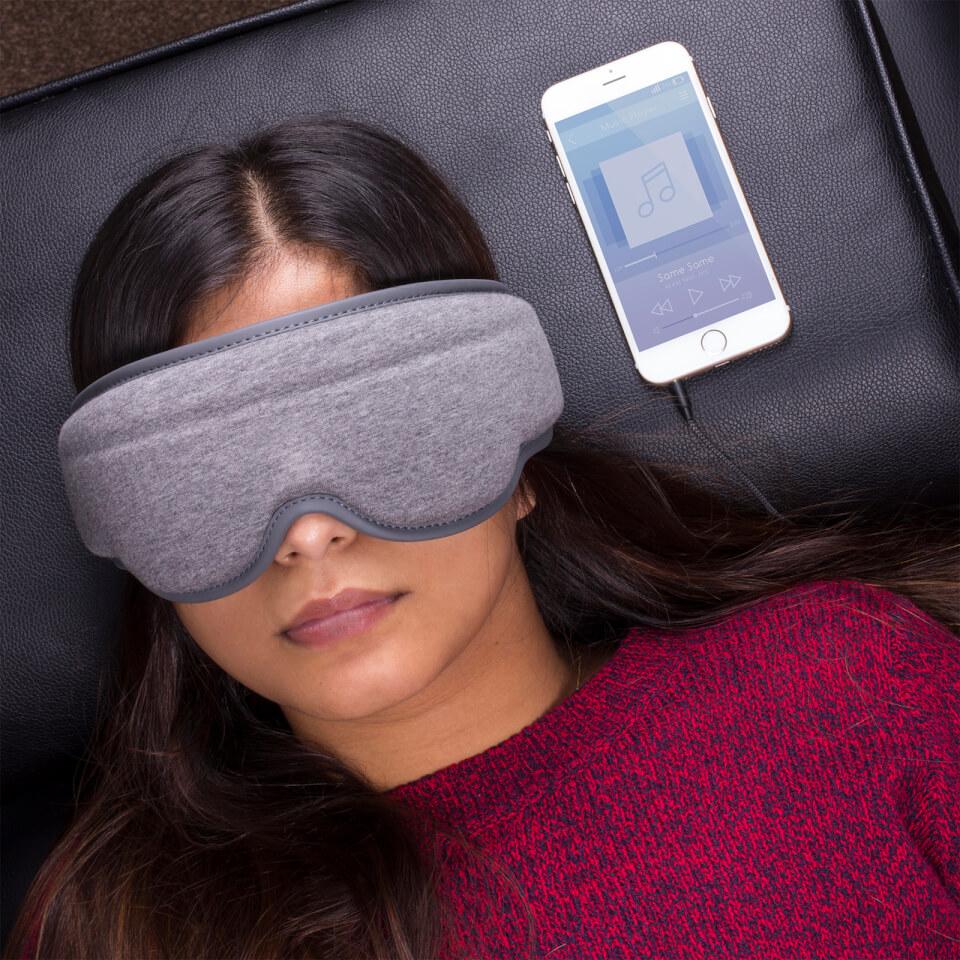 Schlafmaske mit integrierten Kopfhörern Music Sleep Mask