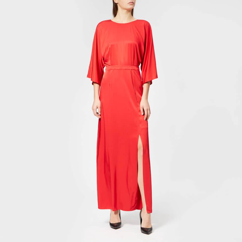 Gestuz Women's Rosie Dress - Deep Barolo - EU 36/UK 8 - Red