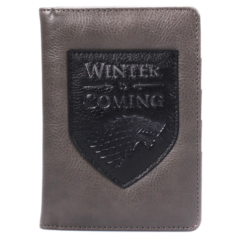 Game of Thrones Passport Wallet - Winter Is Coming