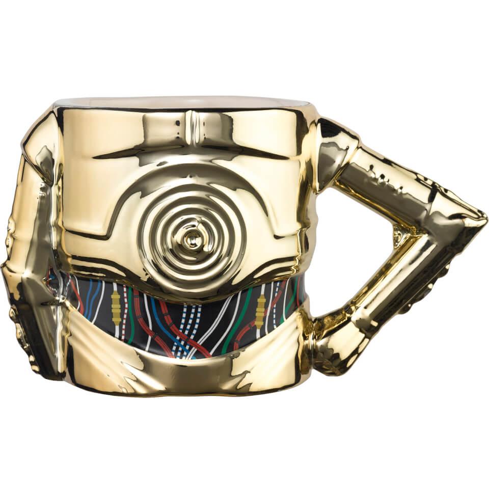 Meta Merch Star Wars 3D C 3PO Arm Mug