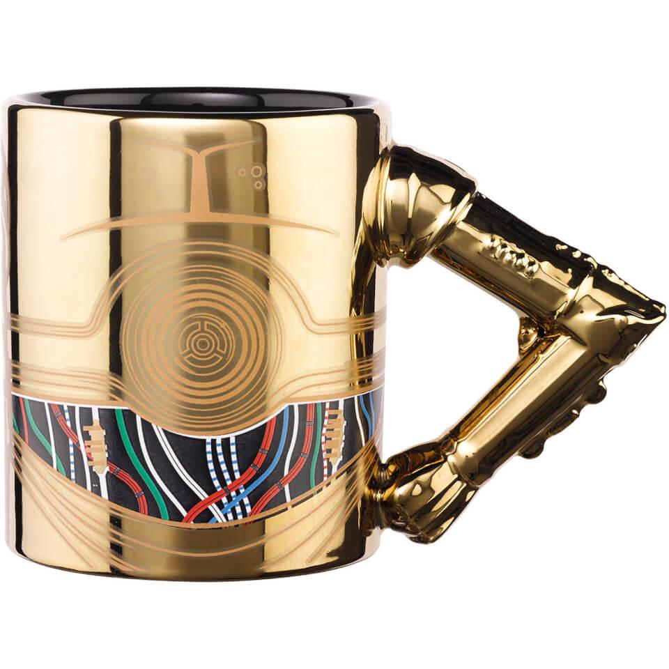 Meta Merch Star Wars C 3PO Arm Mug