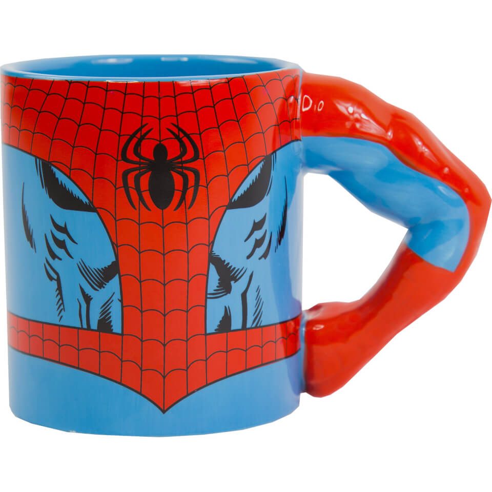 Nützlichfanartikel - Meta Merch Marvel Spider Man Arm Tasse - Onlineshop Sowas Will Ich Auch