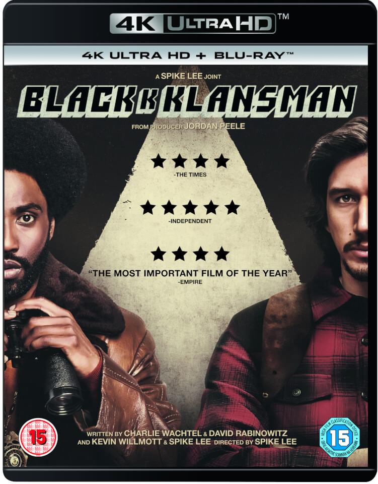 BlacKkKlansman - 4K Ultra HD (Includes Blu-Ray)