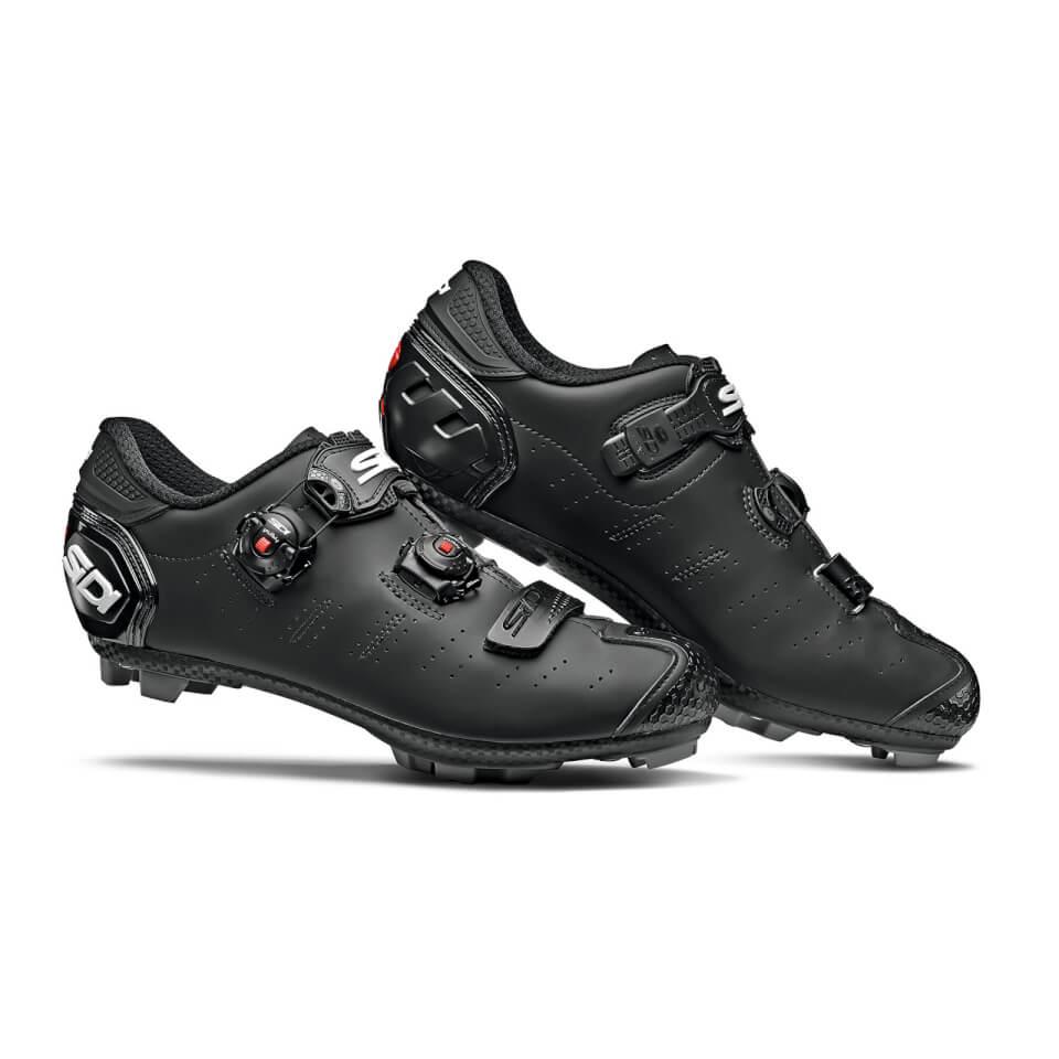 Sidi Dragon 5 SRS Matt MTB Shoes - Matt Black   Shoes and overlays