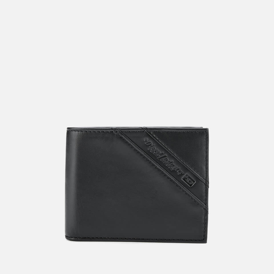 Diesel Men's Neela Leather Wallet - Black