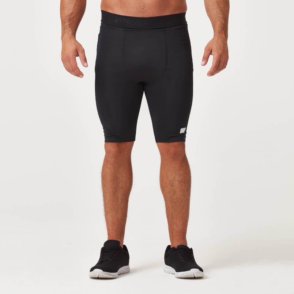 Myprotein Charge Compression Shorts - Black | Compression