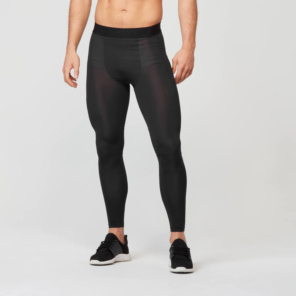 Myprotein Compression Tights - Black | Kompressionstøj