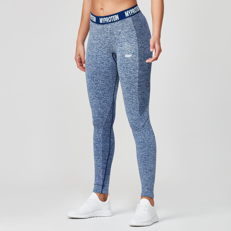 00456a73c743d7 Buy Women's Seamless Gym Leggings | Navy | MYPROTEIN™