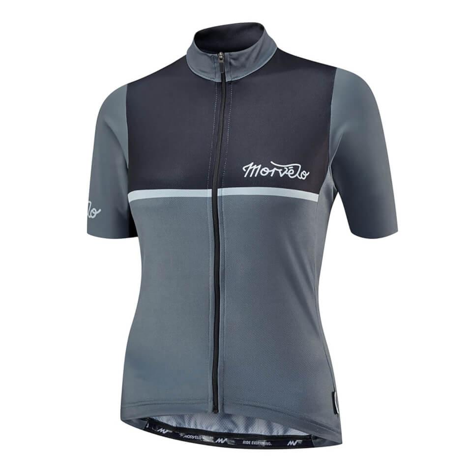 Morvelo Women's Kuler Black Short Sleeve Jersey - Black | Jerseys