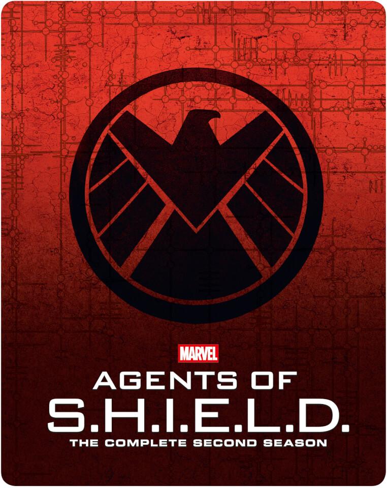 Marvel Agents of S.H.I.E.L.D. 2ª Temporada Completa - Steelbook Edición Limitada Exclusivo de Zavvi