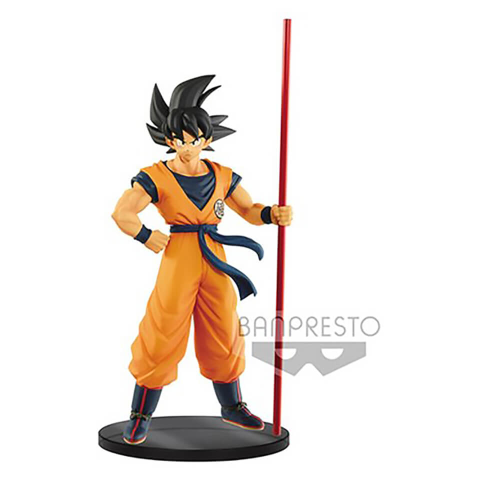 Banpresto Dragon Ball Super Son Goku - 20th Limited Edition Film Figure 20cm