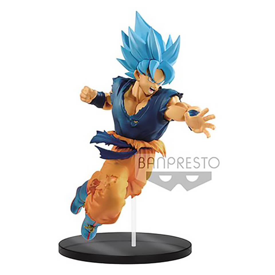 Banpresto Ultimate Soldiers Dragon Ball Super Movie Super Saiyan God Son Goku Figure 20cm