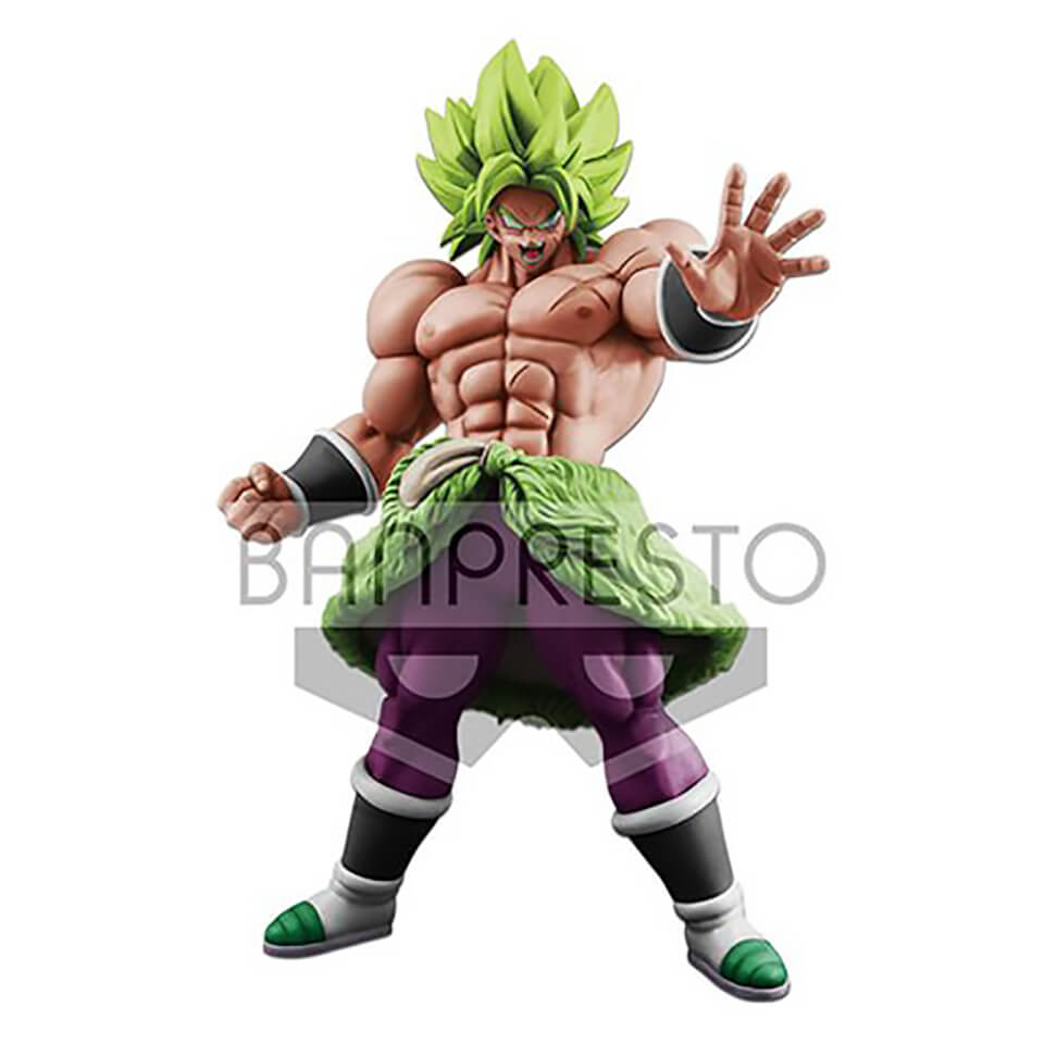 Banpresto Big Figure! Dragon Ball Super King Clustar Super Saiyan Broly Figure 18cm (Full Power)