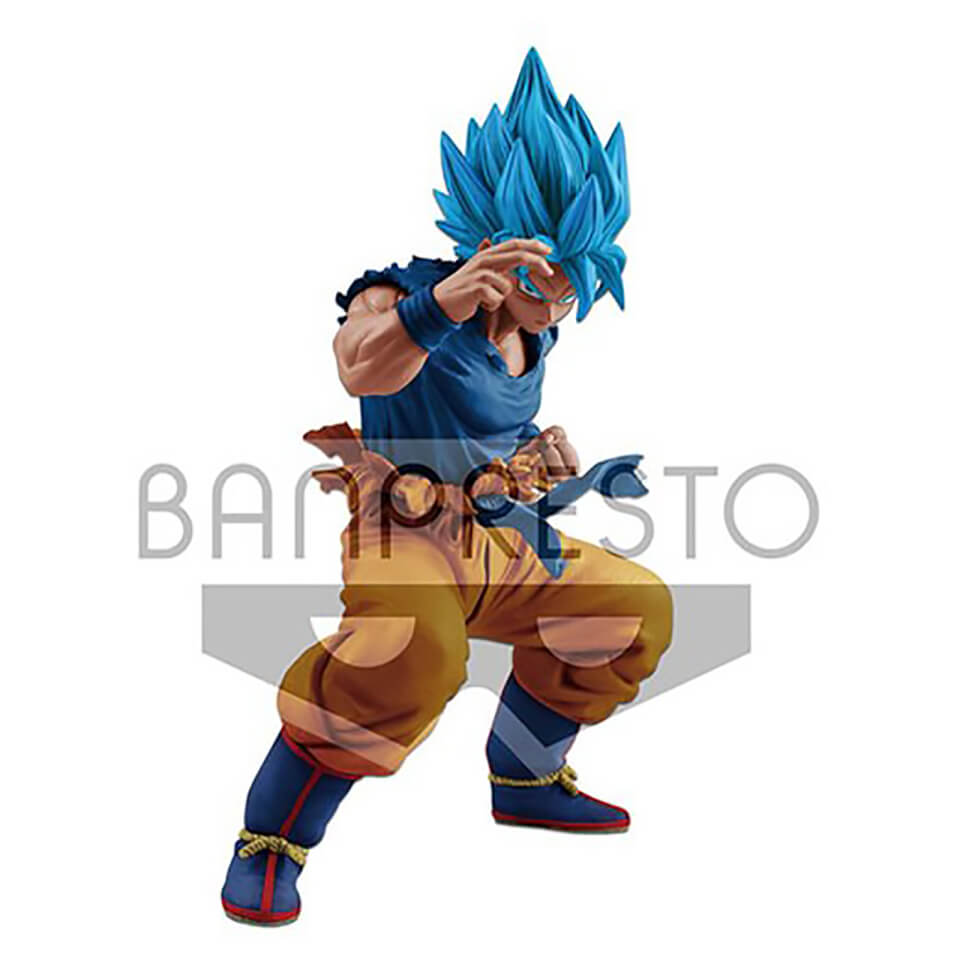 Banpresto Masterlise Dragon Ball Super Super Saiyan God Son Goku Figure 18cm