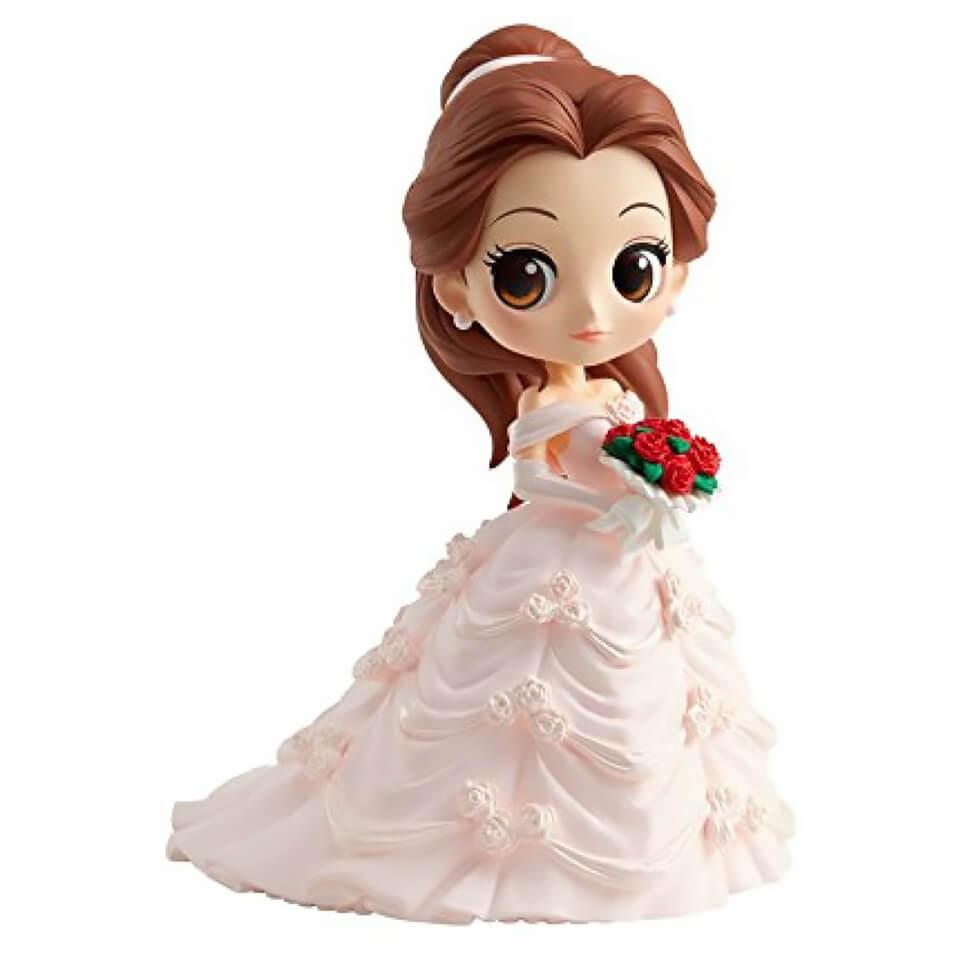 Banpresto Q Posket Disney Beauty and the Beast Belle Dreamy Style Figure 14cm (Normal Colour Version)