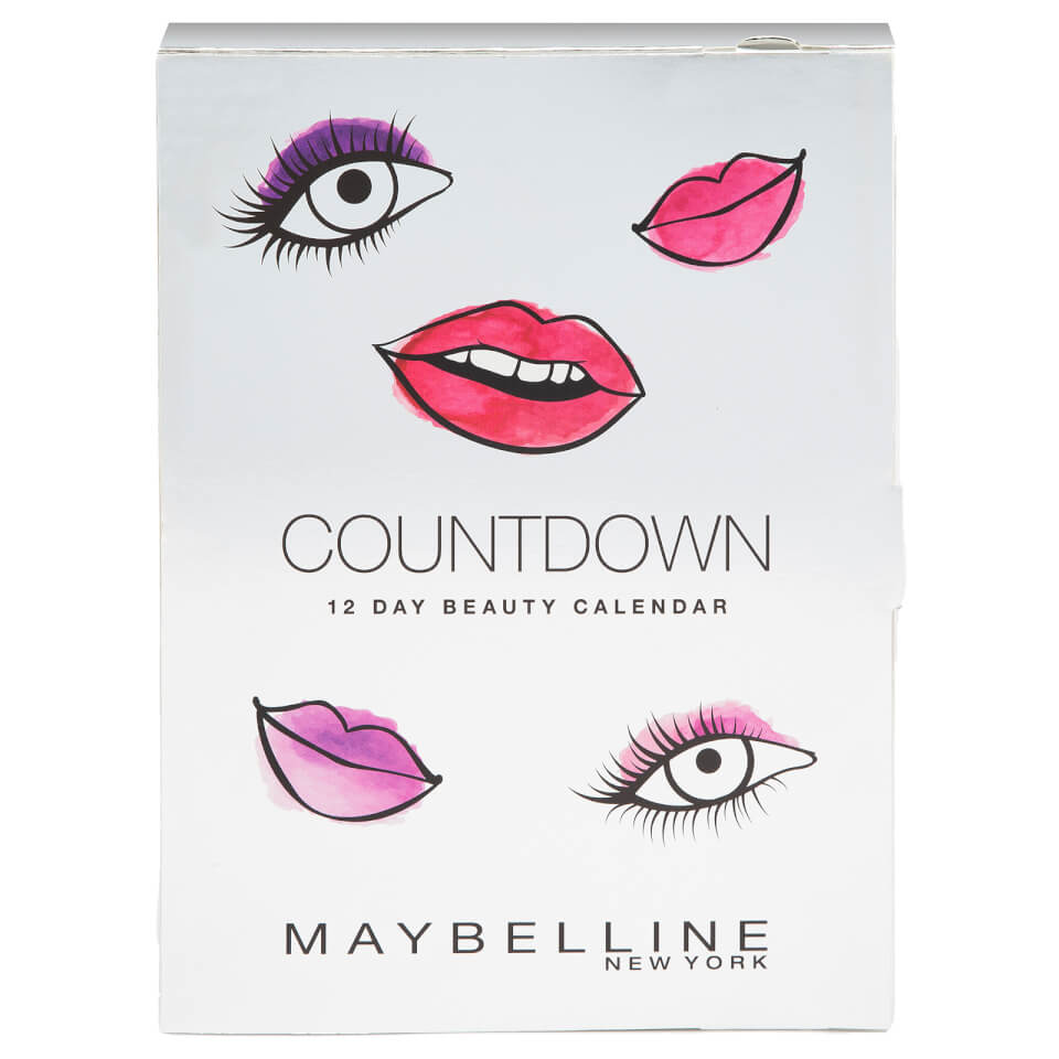 Maybelline Countdown Advent Calendar Christmas Gift (Worth £75.38)
