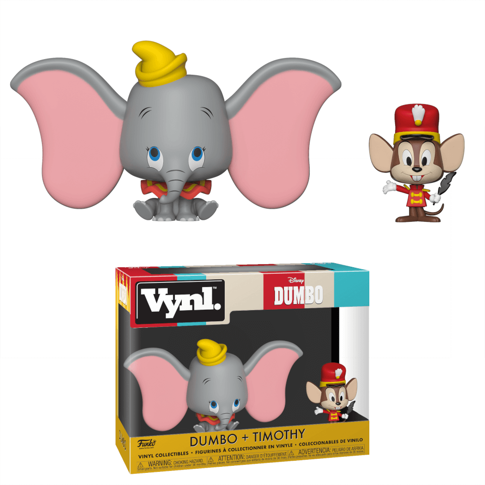 Disney Dumbo Timothy Vynl.