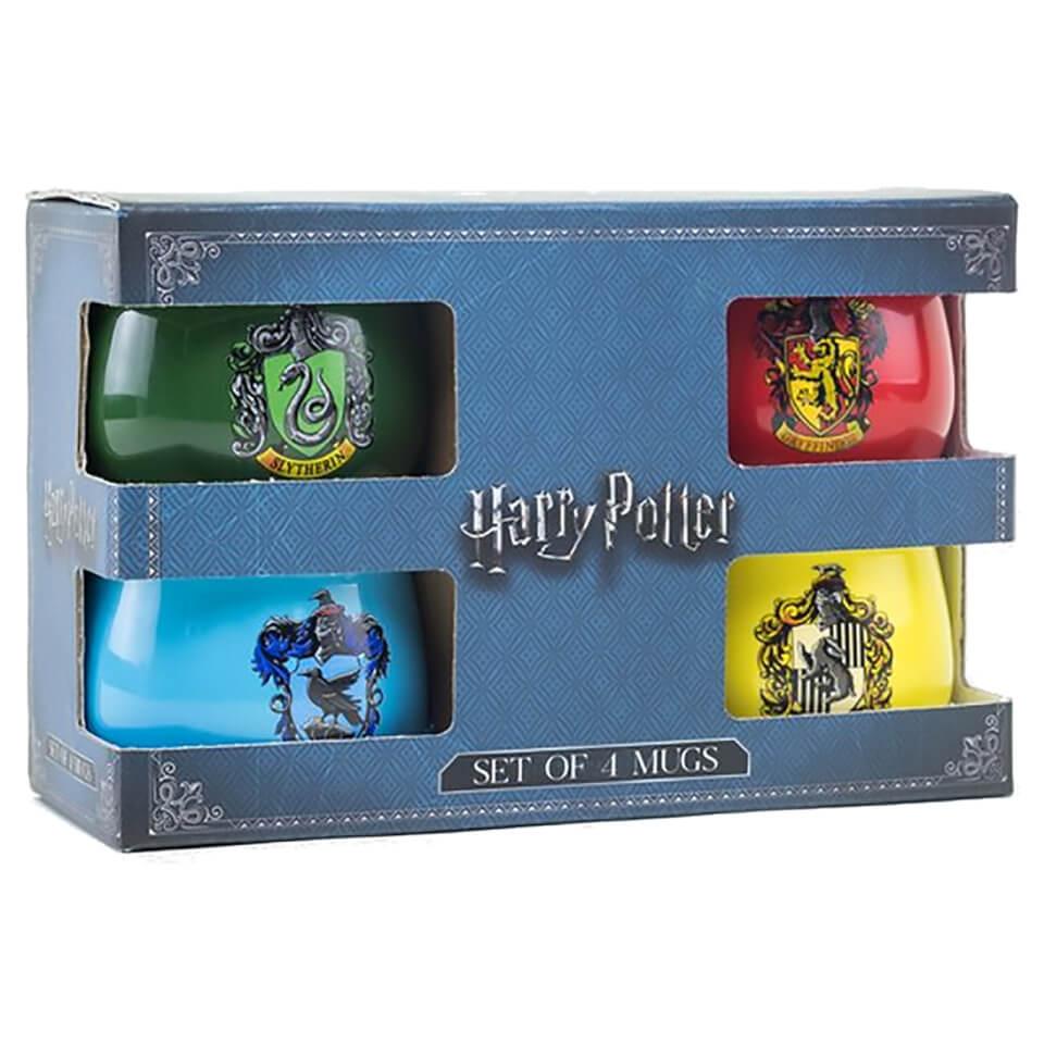 Nützlichfanartikel - Harry Potter Geschenkbox mit 4 Wappentassen - Onlineshop Sowas Will Ich Auch