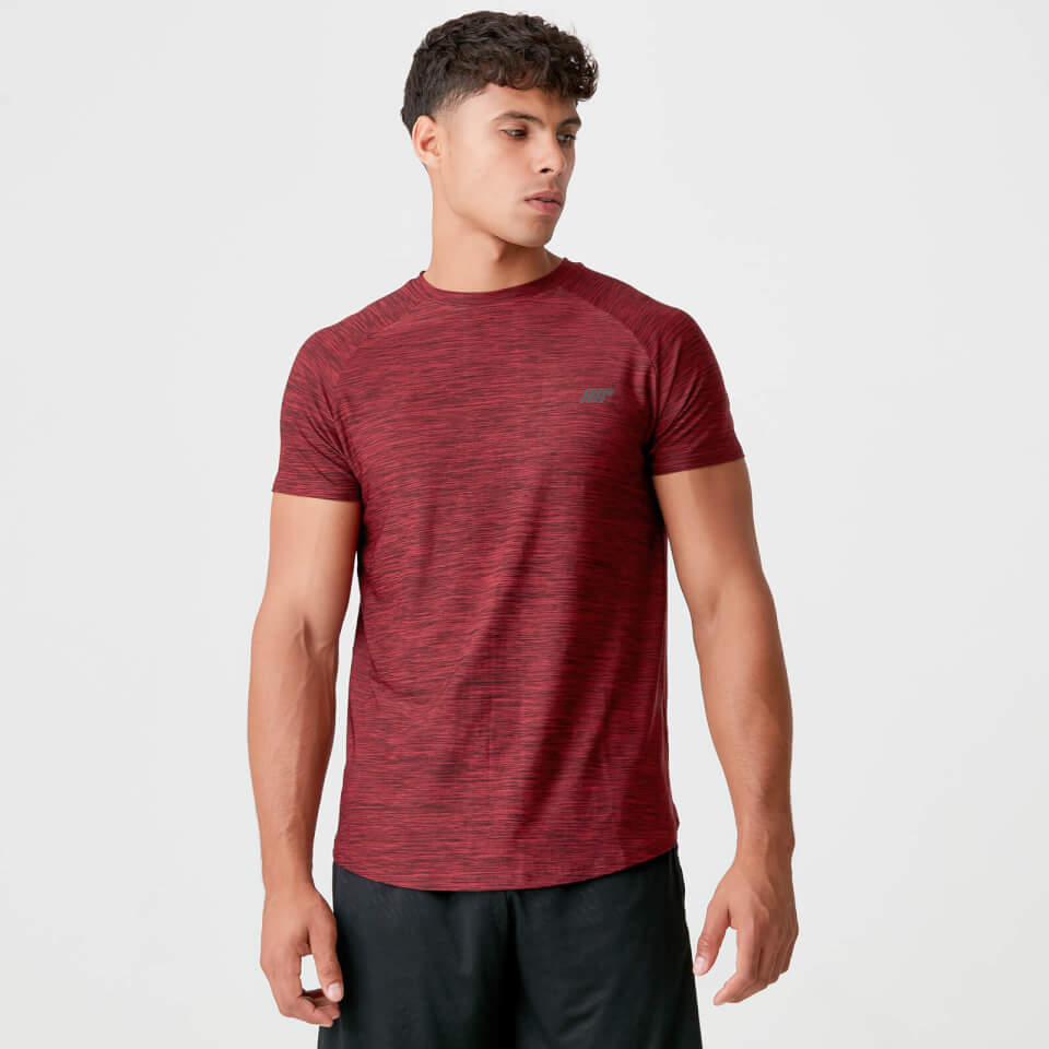 Camiseta Dry-Tech Infinity - XL - Red Marl