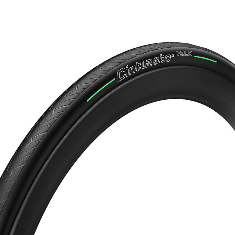 Pirelli Cinturato Velo Tubeless Ready Folding Road Tyre - 700x26c