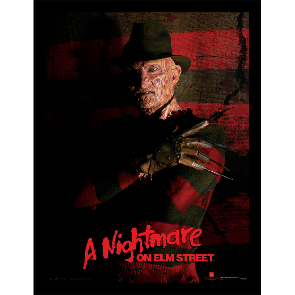 A Nightmare On Elm Street (Freddy Krueger) 30 x 40cm Print