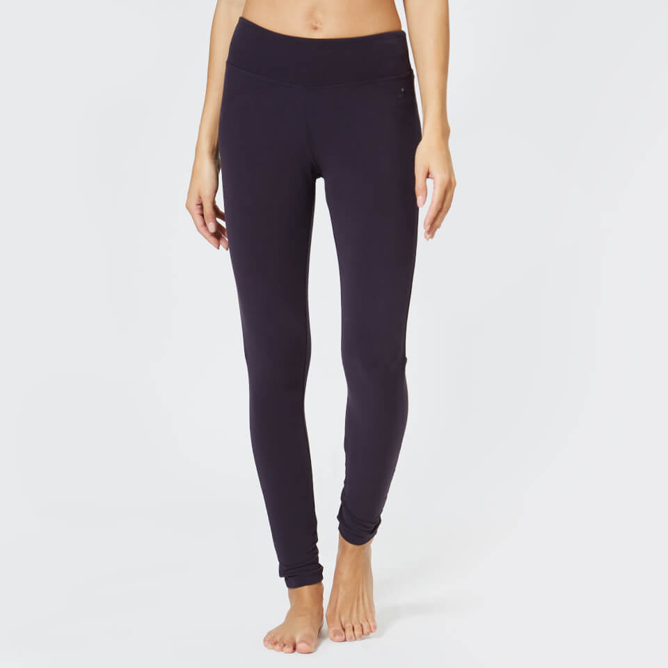 M-Life Women's Practise Leggings - Puja - M - Purple