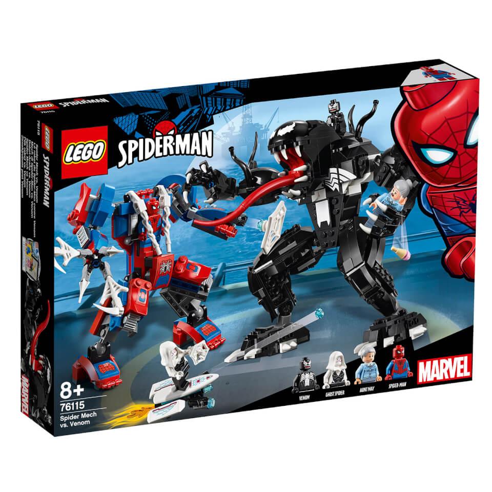 LEGO Super Heroes: Spider Mech Vs. Venom 76115