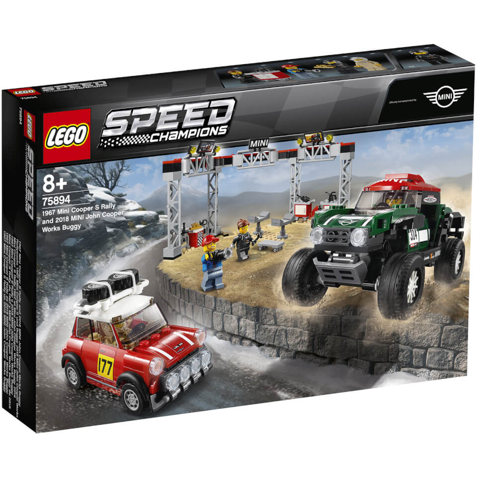 LEGO Speed Champions: Mini 1967 Montecarlo and 2018 Dakar 75894
