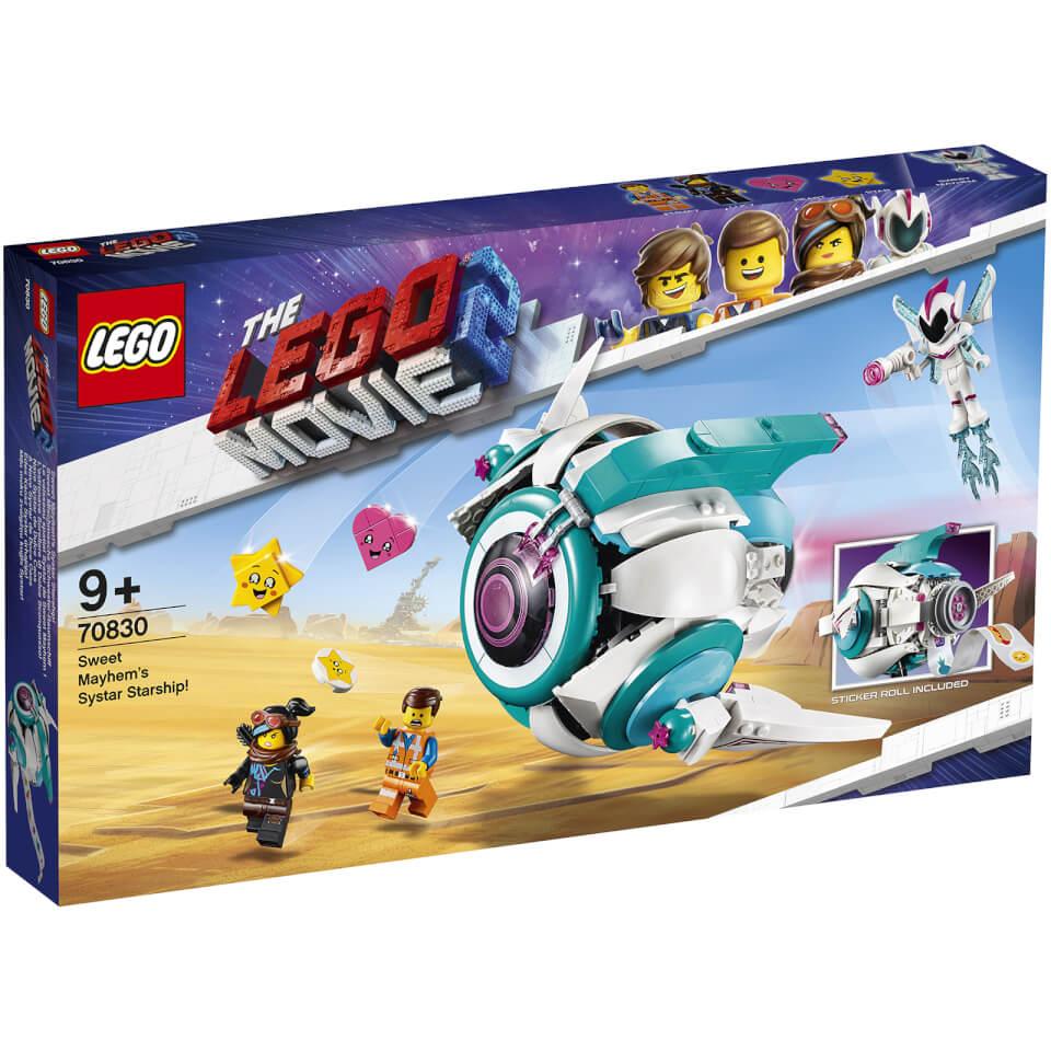 LEGO Movie 2: Sweet Mayhem's Systar Starship! (70830)