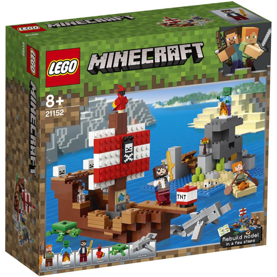 LEGO Minecraft - La Aventura del Barco Pirata - 21152