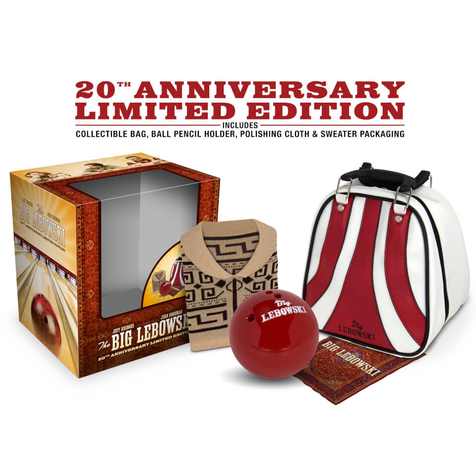 The Big Lebowski: Incl Bowling Bag & Ball, Sweater - Zavvi Exclusive 4K Ultra HD & Blu-ray Steelbook