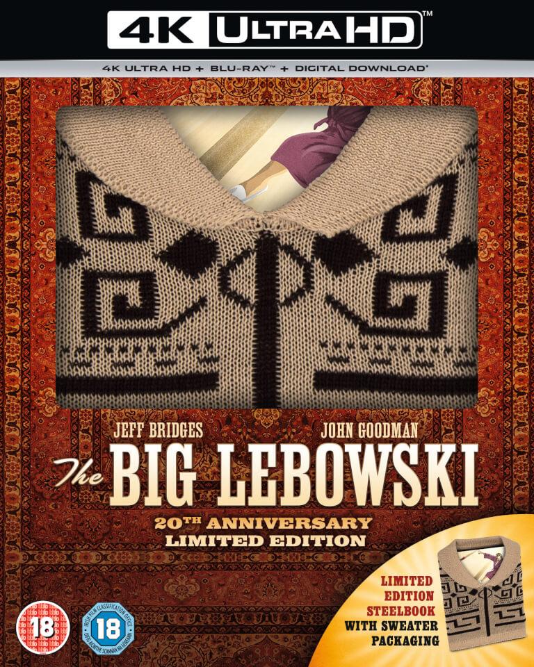 The Big Lebowski: Incl Sweater - Zavvi Exclusive 4K Ultra HD & Blu-ray Steelbook