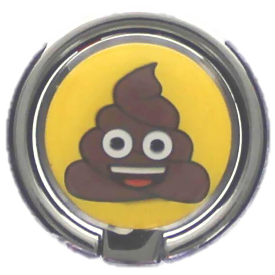 Emoji Poo Mobile Spin Grip