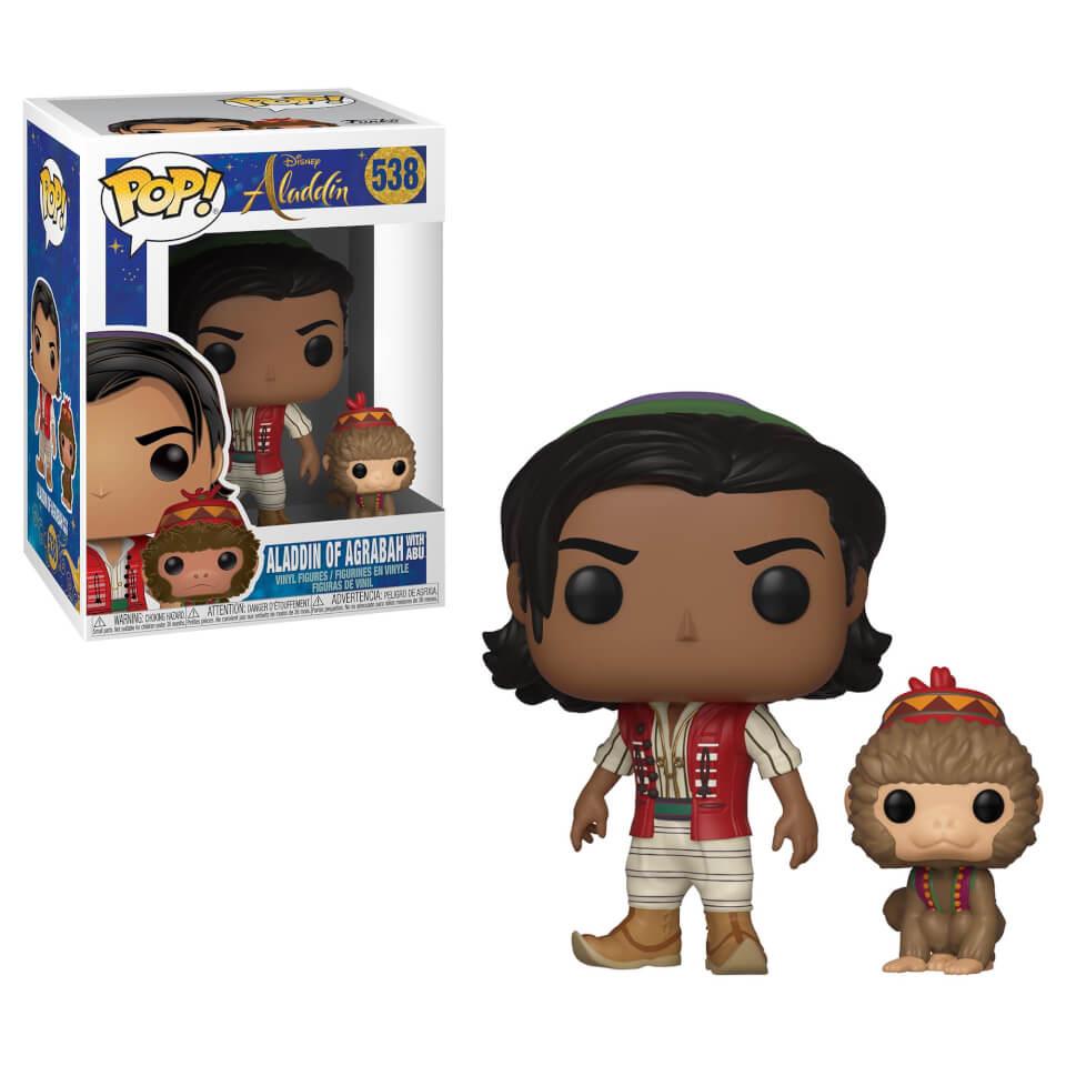Disney Aladdin (Live Action) Aladdin und Abu Pop! Vinyl Figur