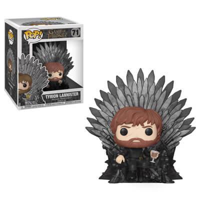 Game of Thrones Tyrion Lannister auf den Iron Thron LTF Pop! Vinyl Deluxe Figur