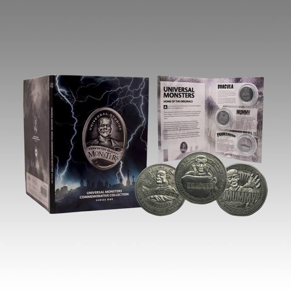 Álbum Monedas de Colección Universal Monsters - Edición Limitada