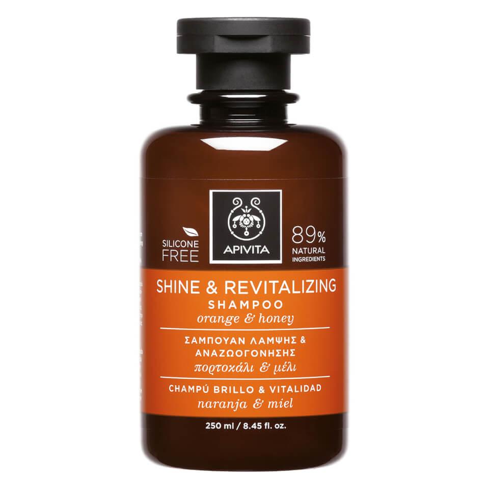 APIVITA Holistic Hair Care Shine & Revitalising Shampoo - Orange & Honey 250ml