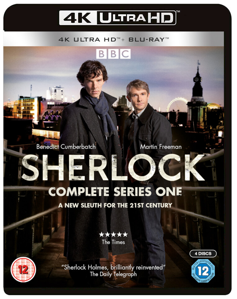 Sherlock Series 1 - 4K Ultra HD