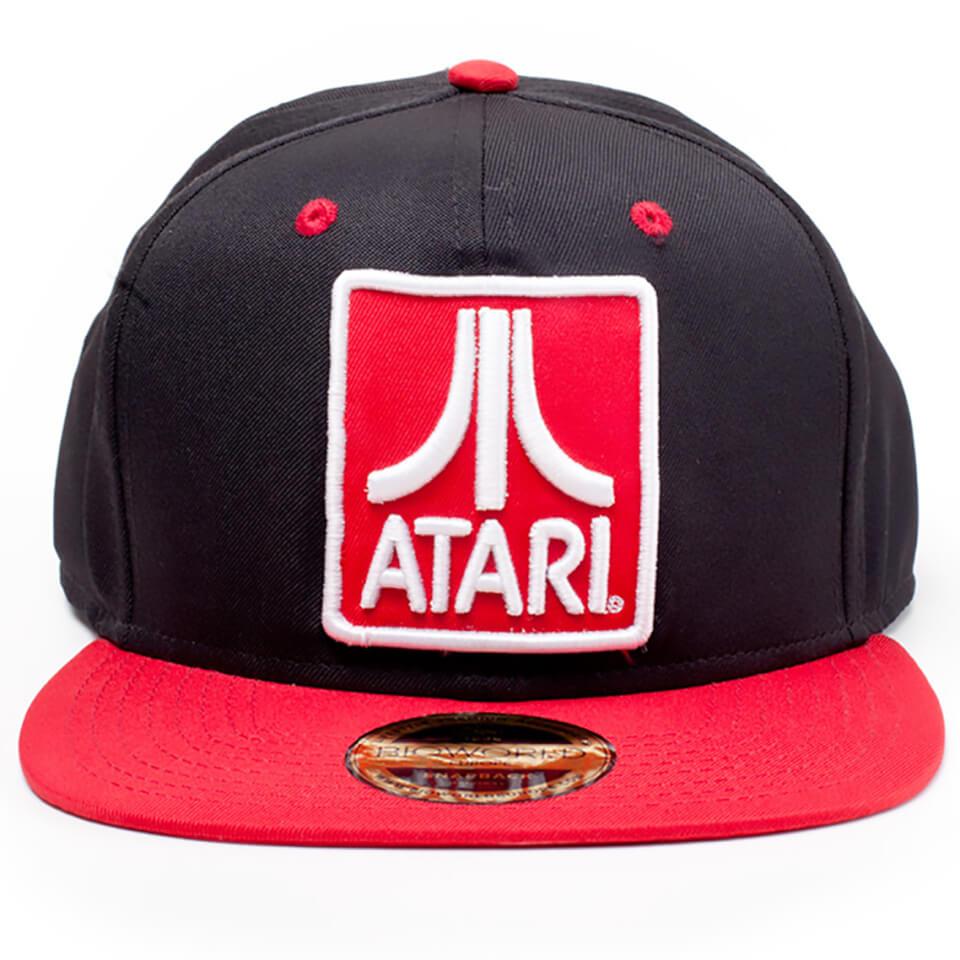 Atari Logo Badge Snapback - Black